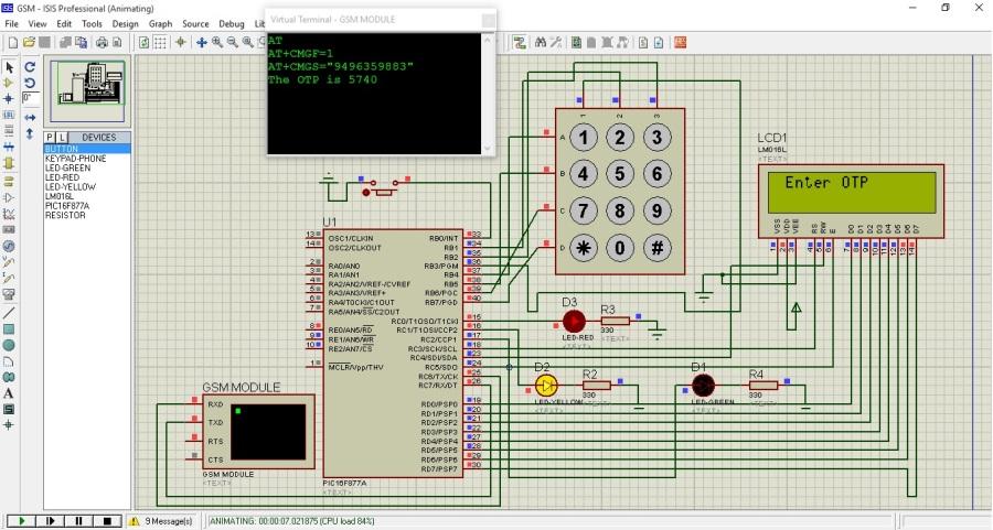 Hardware OTP Lock : Wait for user input
